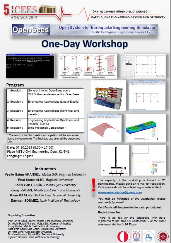 OpenSees Workshop Poster